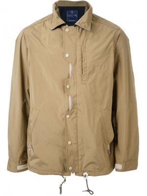 Водонепроницаемая спортивная куртка Meanswhile. Цвет: коричневый