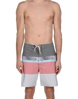 Пляжные брюки и шорты RIPCURL. Цвет: серый