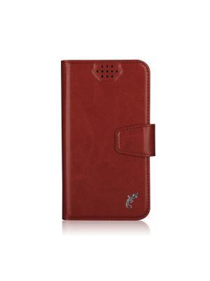 Универсальный чехол G-case Slim Premium для смартфонов 3,5 - 4,2. Цвет: красный