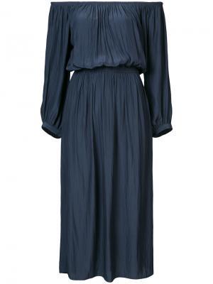 Платье Gypset Smythe. Цвет: синий
