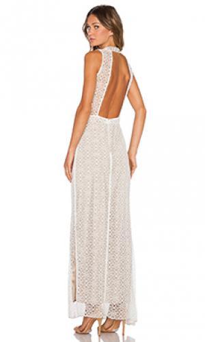 Платье isabel AGAIN. Цвет: белый