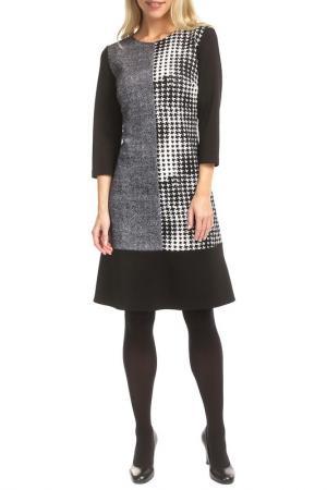 Платье TOK. Цвет: black, gray