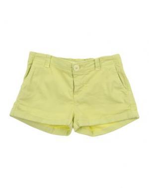 Повседневные шорты MANILA GRACE DENIM. Цвет: светло-зеленый