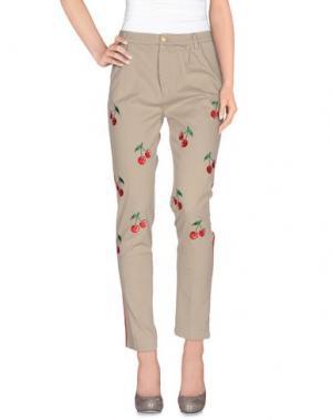 Повседневные брюки TRĒS CHIC S.A.R.T.O.R.I.A.L. Цвет: светло-серый