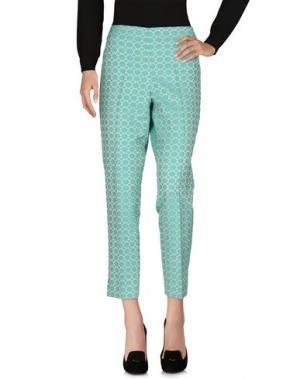 Повседневные брюки PT0W. Цвет: зеленый