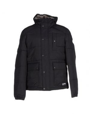 Куртка PUFFA. Цвет: черный