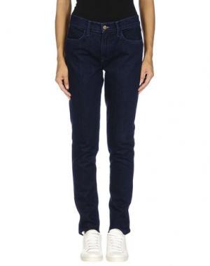 Джинсовые брюки WILDFOX. Цвет: синий