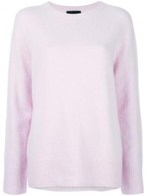 Ribbed detail jumper The Row. Цвет: розовый и фиолетовый