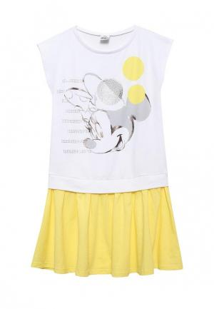 Платье Brums. Цвет: белый