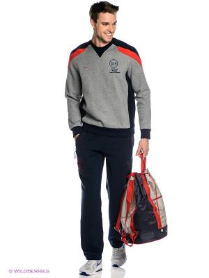 Спортивный костюм ADDIC. Цвет: серый меланж