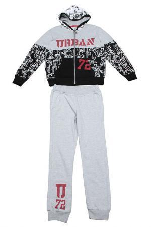 Комплект: брюки и джемпер Dodipetto. Цвет: серый