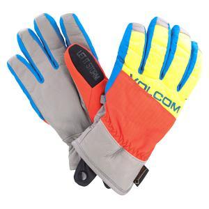 Перчатки сноубордические  Full Pipe Orange Volcom. Цвет: мультиколор