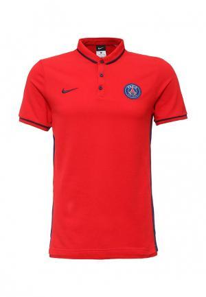 Поло Nike. Цвет: красный