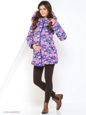 Куртка impressmama. Цвет: розовый