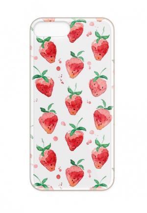 Чехол для iPhone With Love. Moscow. Цвет: прозрачный