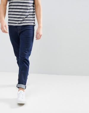ASOS Узкие джинсы цвета индиго. Цвет: синий