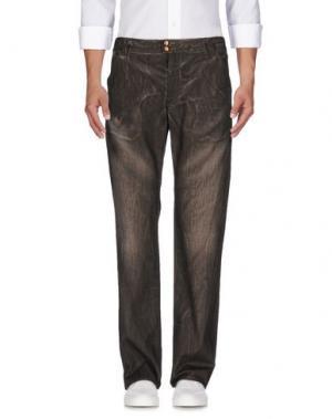 Джинсовые брюки COSTUME NATIONAL HOMME. Цвет: хаки