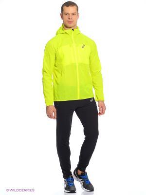 Куртка Elite Jacket ASICS. Цвет: желтый