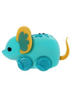 Интерактивная игрушка Little Live Pets Голубая мышка в колесе Moose. Цвет: голубой
