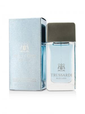 Blue Land men 30 ml Trussardi. Цвет: голубой