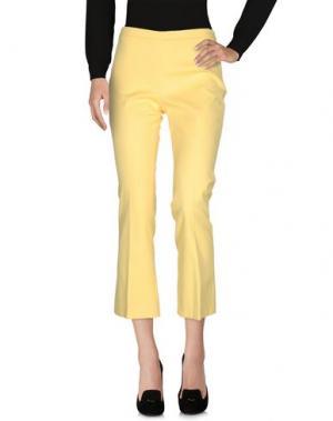 Повседневные брюки OPIFICIO TI. Цвет: желтый