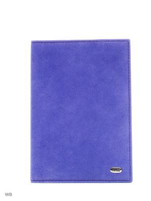 Обложка на паспорт Petek. Цвет: темно-фиолетовый