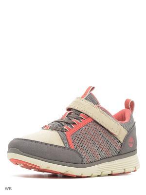 Ботинки TIMBERLAND. Цвет: бежевый, коралловый