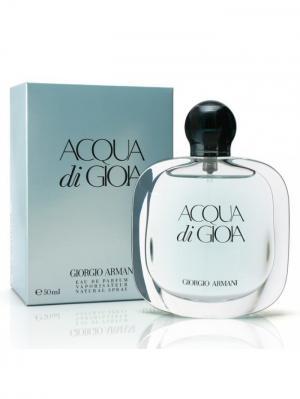 Acqua Di Gioia lady edt 50 ml Armani. Цвет: светло-голубой