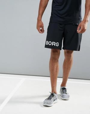 Bjorn Borg Черные шорты Performance. Цвет: черный