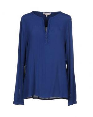 Блузка LA FEE MARABOUTEE. Цвет: темно-синий