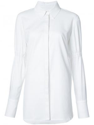 Классическая рубашка Rebecca Vallance. Цвет: белый