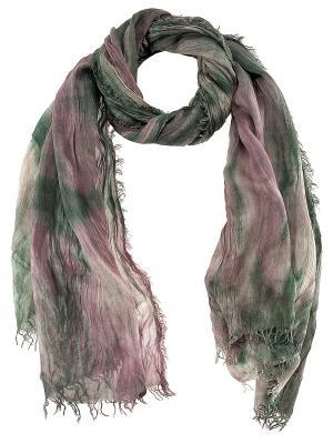 Платок Passigatti. Цвет: зеленый, розовый
