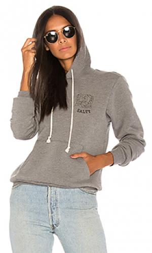 Пуловер salty A Fine Line. Цвет: серый