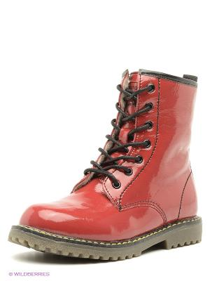 Ботинки Bebendorff. Цвет: красный