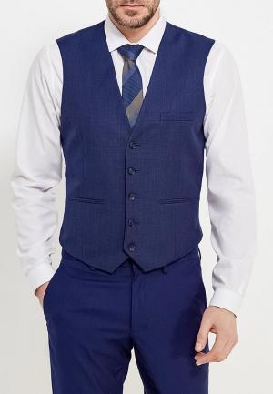 Жилет Burton Menswear London. Цвет: синий