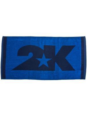 Полотенце махровое Bari 40x80см 2K. Цвет: темно-синий, синий
