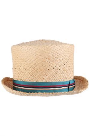 Шляпа ANTHONY PETO. Цвет: бежевый