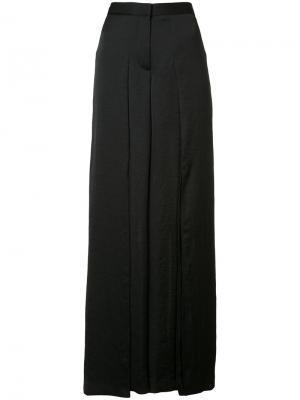Драпированные брюки Barbara Bui. Цвет: чёрный