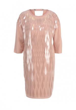 Платье Escada Sport. Цвет: розовый