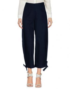 Повседневные брюки ROSE' A POIS. Цвет: темно-синий