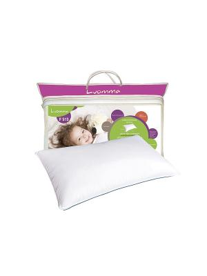 Подушка для детей с эффектом памяти классическая Luomma. Цвет: белый