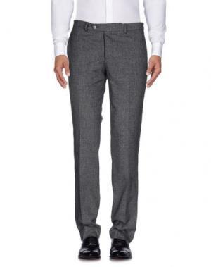 Повседневные брюки MANUEL RITZ. Цвет: стальной серый