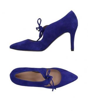 Туфли ANCARANI. Цвет: ярко-синий