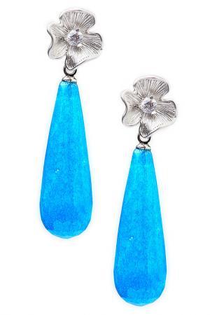 Серьги FRANSUA ARDY. Цвет: синий