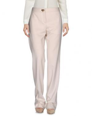 Повседневные брюки SALVATORE FERRAGAMO. Цвет: бежевый