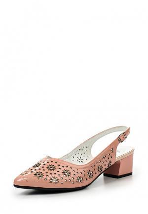 Туфли Ascalini. Цвет: розовый