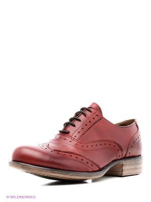 Туфли Francesco Donni. Цвет: красный