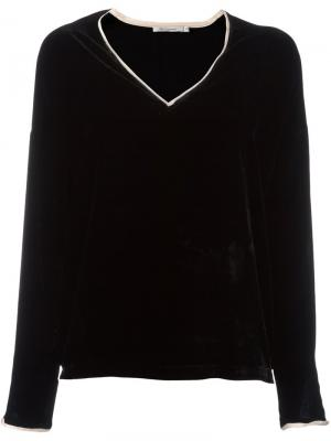 Блузка Vicky Mes Demoiselles. Цвет: чёрный