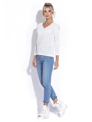 Пуловер XINT. Цвет: белый
