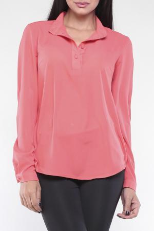 Блуза Laura Bettini. Цвет: коралловый